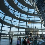 Roof of the Reichstag building