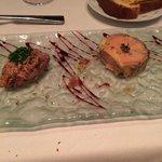 Foie Gras starter-delicious