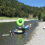 Eel River -walking distance from Redwood River Resort