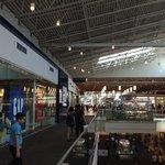 Visão geral do shopping