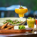 Refreshing Food and Cocktails