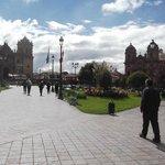 Plaza das Armas em Cusco