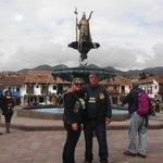 Chafariz inka em Plaza das Armas Cusco