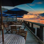 Packers Oyster Bar Deck at Sunset