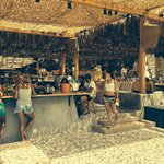 Friendly atmosfere, grait music and the best seafood served in Mykonos