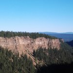 The canyon at Painted Chasm Provincial Park, Clinton, bC