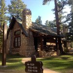 The cabins of Bryce Canyon Lodge