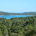 Bellissima vista e bellissima spiaggia