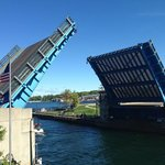Very cool to see the bridge go up!