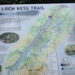Loch Ness Trail marker