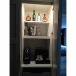 Stocked Mini Bar in Room