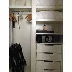 Dressing Closet in Junior Suite with In-Room Safe
