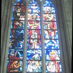 Grand stained glass