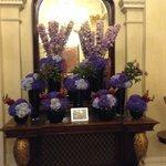 Entry flowers