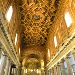 incredible gold ceiling!