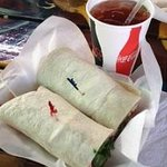 Big wraps at little Lobos' Mixed Grill