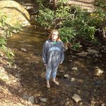 IN the creek behind C7 - May 2014 - IT IS COLD!