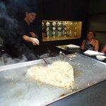 teppanyaki dinner at Bana restaurant  DELISH!