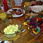 Homemade breakfast for 2!