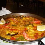 Mixed Paella for 2 which was lovely