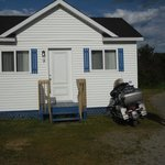 Front of cottage - bike friendly