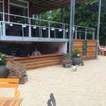 Bar outside