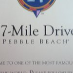 17-Mile-Drive Sign