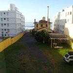 vista da janela do apartamento 14
