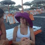 Beautiful Beach, look for the lady in the hat for a great massage!!