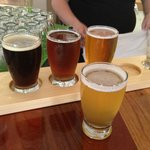 5 beer sampler. So good.