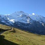 A caminho de Jungfraujoch