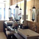 Bathroom of ocean view suite
