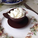 Chocolate Teacup