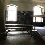 Одна из камер, где содержались заключенные