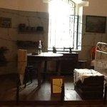 Интерьер комнаты каунасского гетто