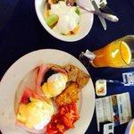 Yummy breakfast eggs ben!