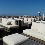 Rooftop chill-out seating