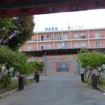 Einfahrt Park Hotel