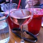raspberry lemonade and rose