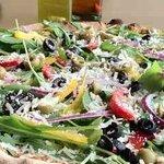 Salat pizza