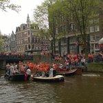 King's Day at the Jordaan