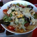Salade césar (10 euros)