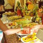 Tropical Fruit Counter