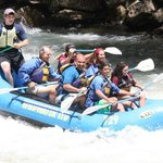 Wild Water Rafting At Noc