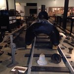 Showing how steam trains were constructed
