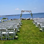 The beautiful ceremony site