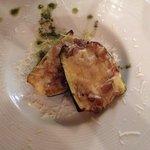 Baked mushroom and cheese zucchini