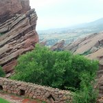 From the porch of Red Rocks Trading Post
