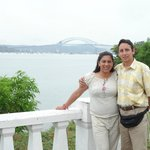 Panoramica del puente de las Americas desde Coastway