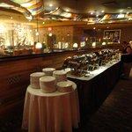 the Seneca Cafe buffet breakfast